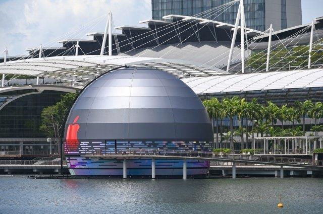 Loja da Apple em singapura