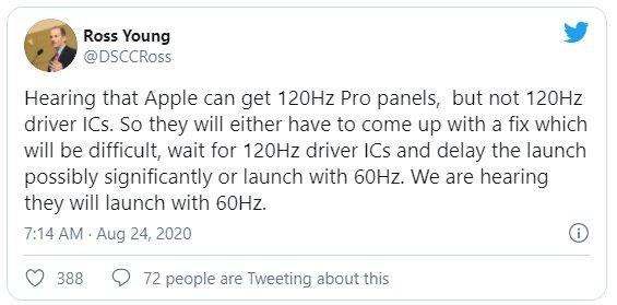 declarações do fabrico do iPhone 12