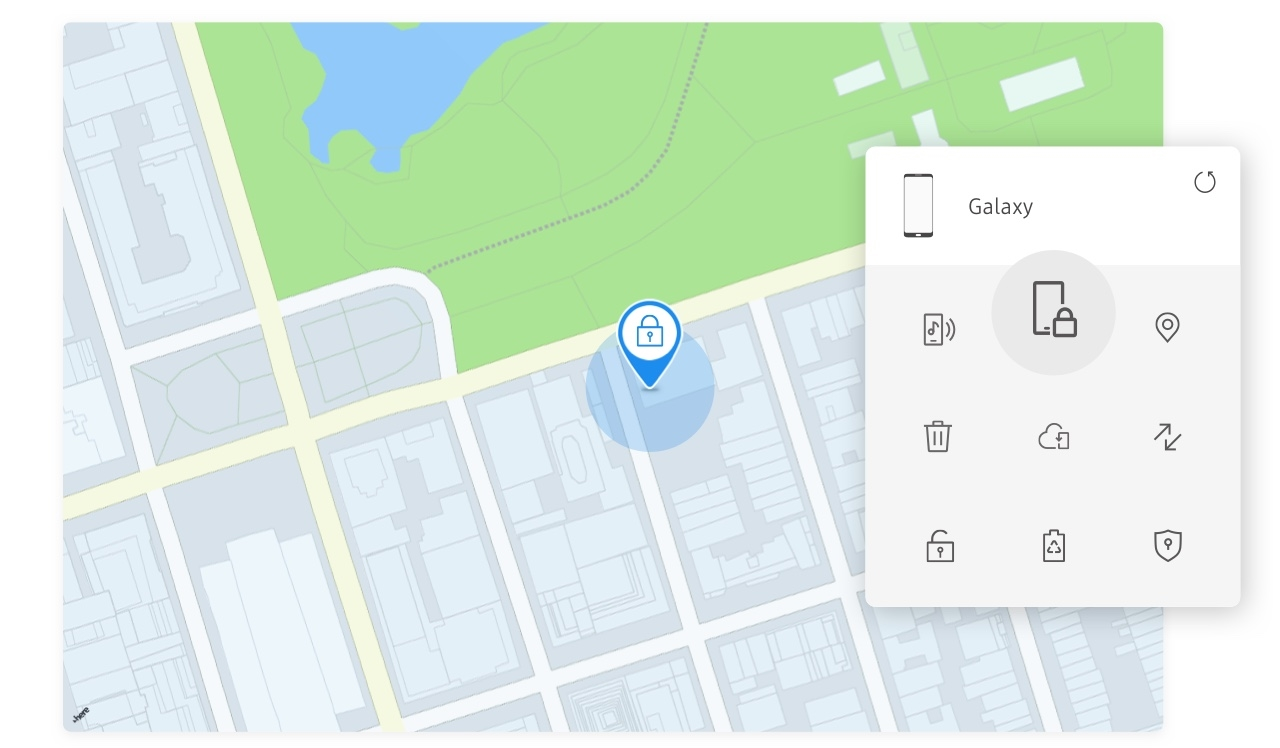 Samsung find my phone