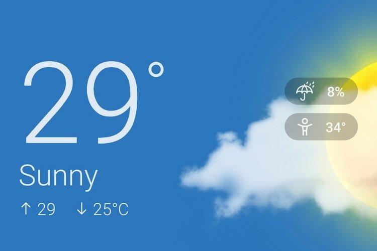 OnePlus meteorologia play store