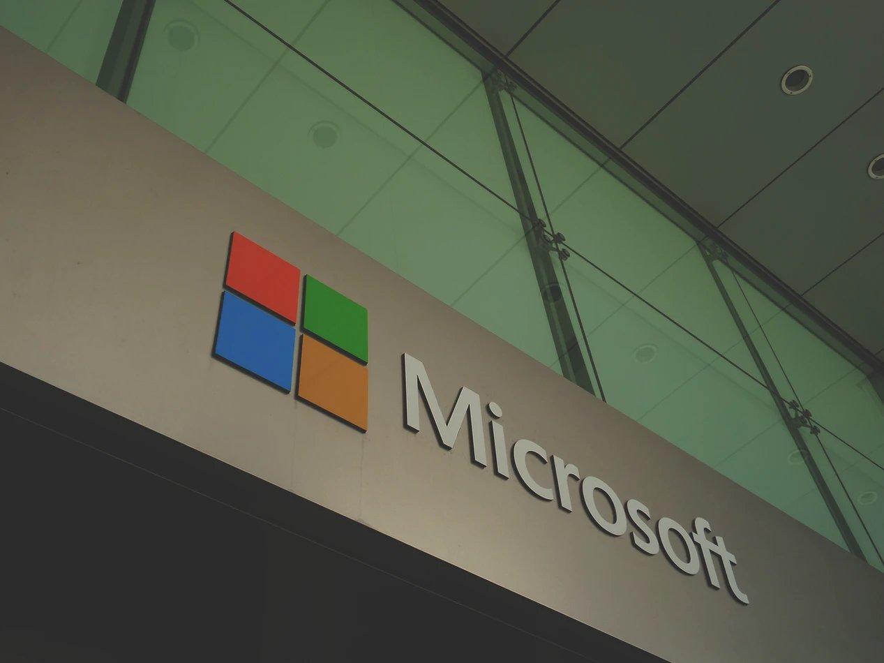 Microsoft logo sede