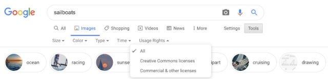 Google imagens pesquisa