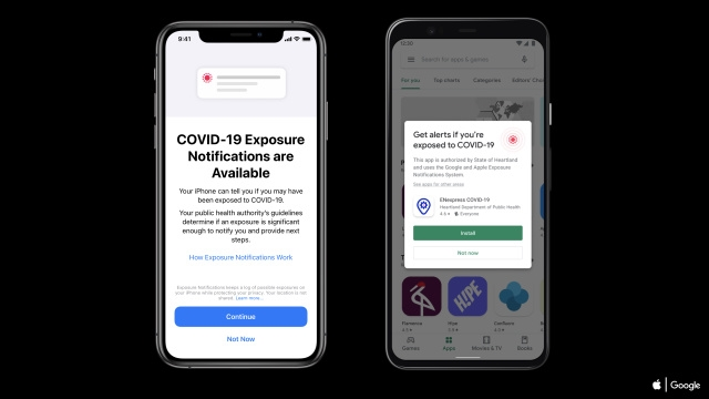 novo sistema contact tracing apple e google