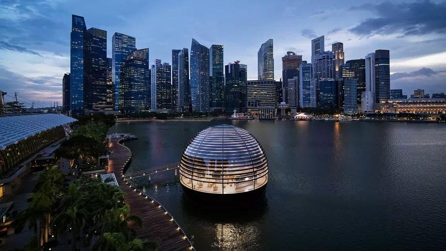 Loja apple em singapura