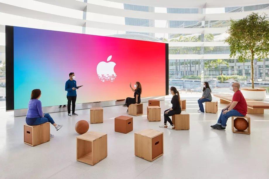 local para eventos apple