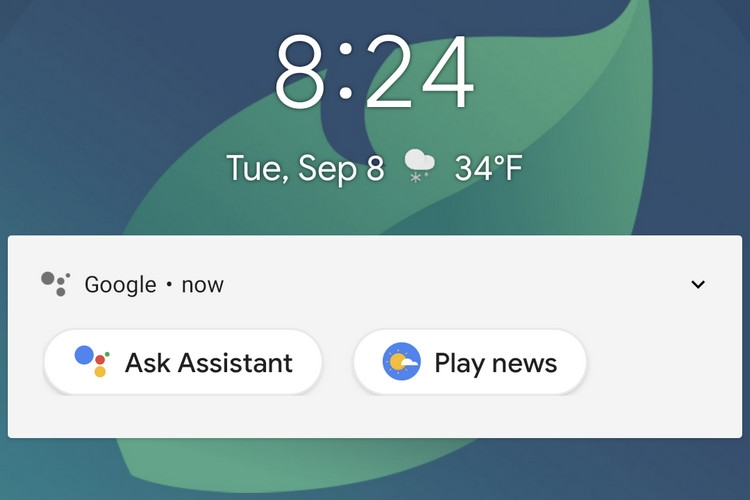 Google assistente ecrã de bloqueio