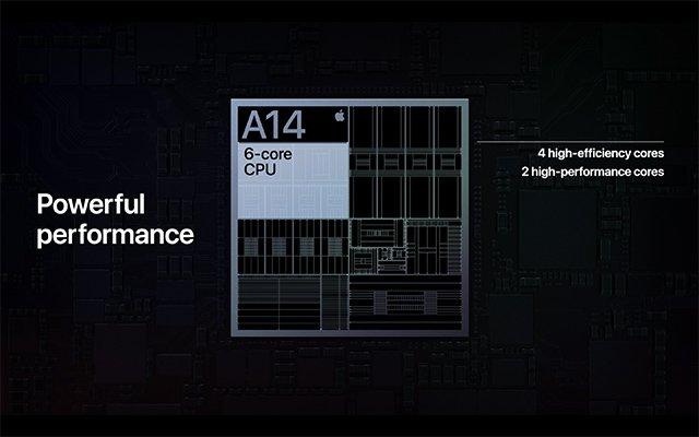 Apple a14 processador