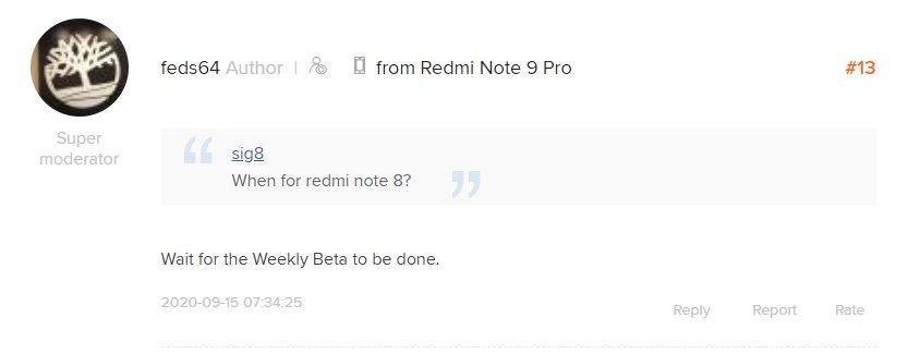 atualização redmi note 8