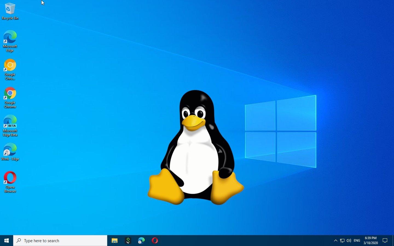 Linux no Windows 10
