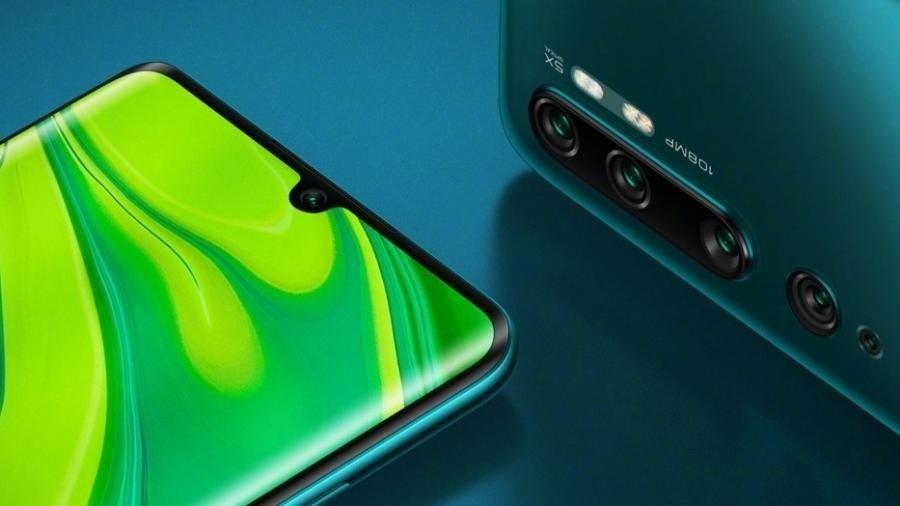Xiaomi note 10 câmera 108 mp