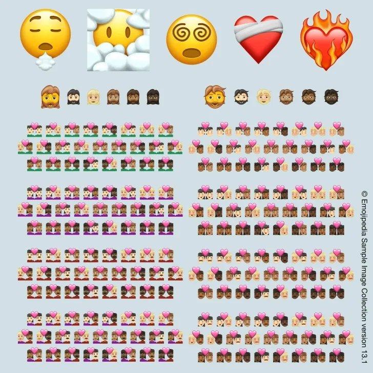 novos emojis 2021