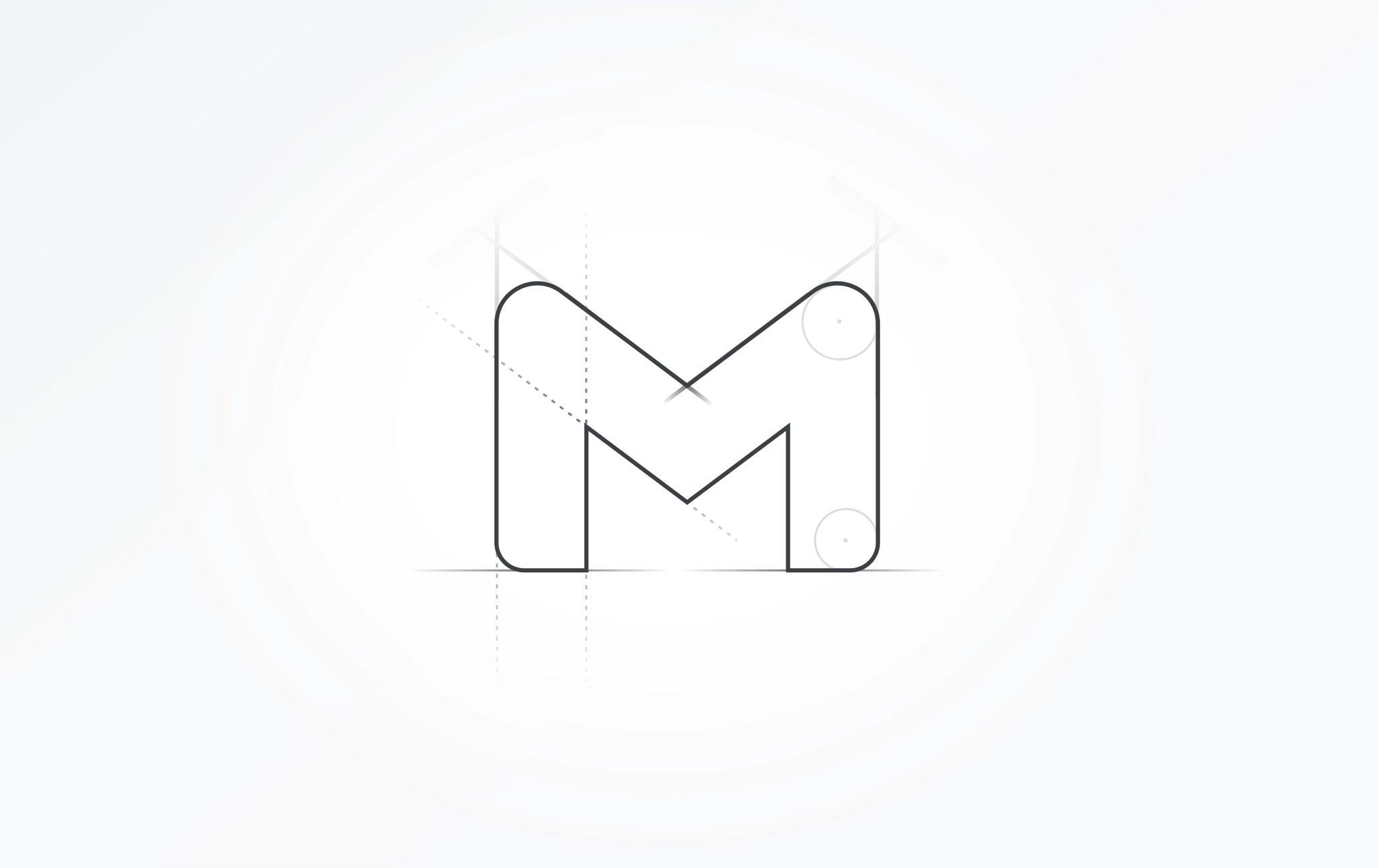 novo logo do gmail