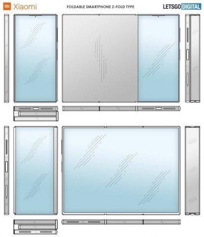 imagem da patente xiaomi