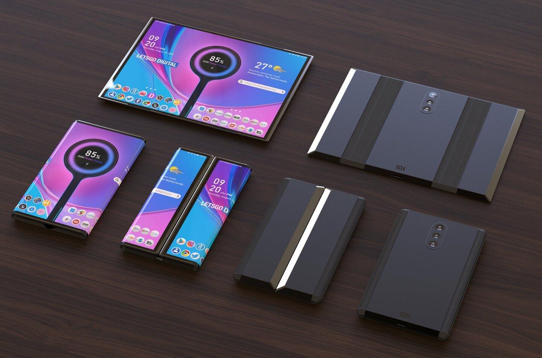 Xiaomi smartphone dobrável