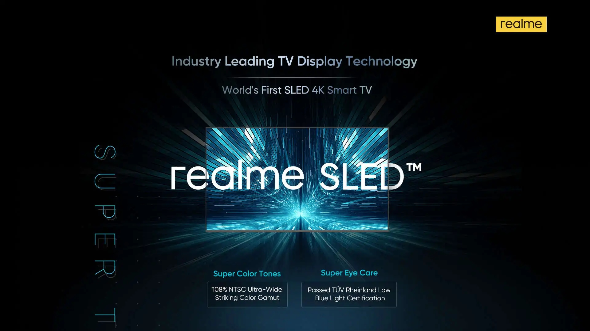 Realme SLED tv mercado
