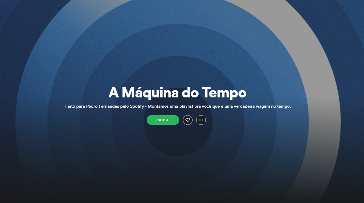 Spotify Máquina do Tempo