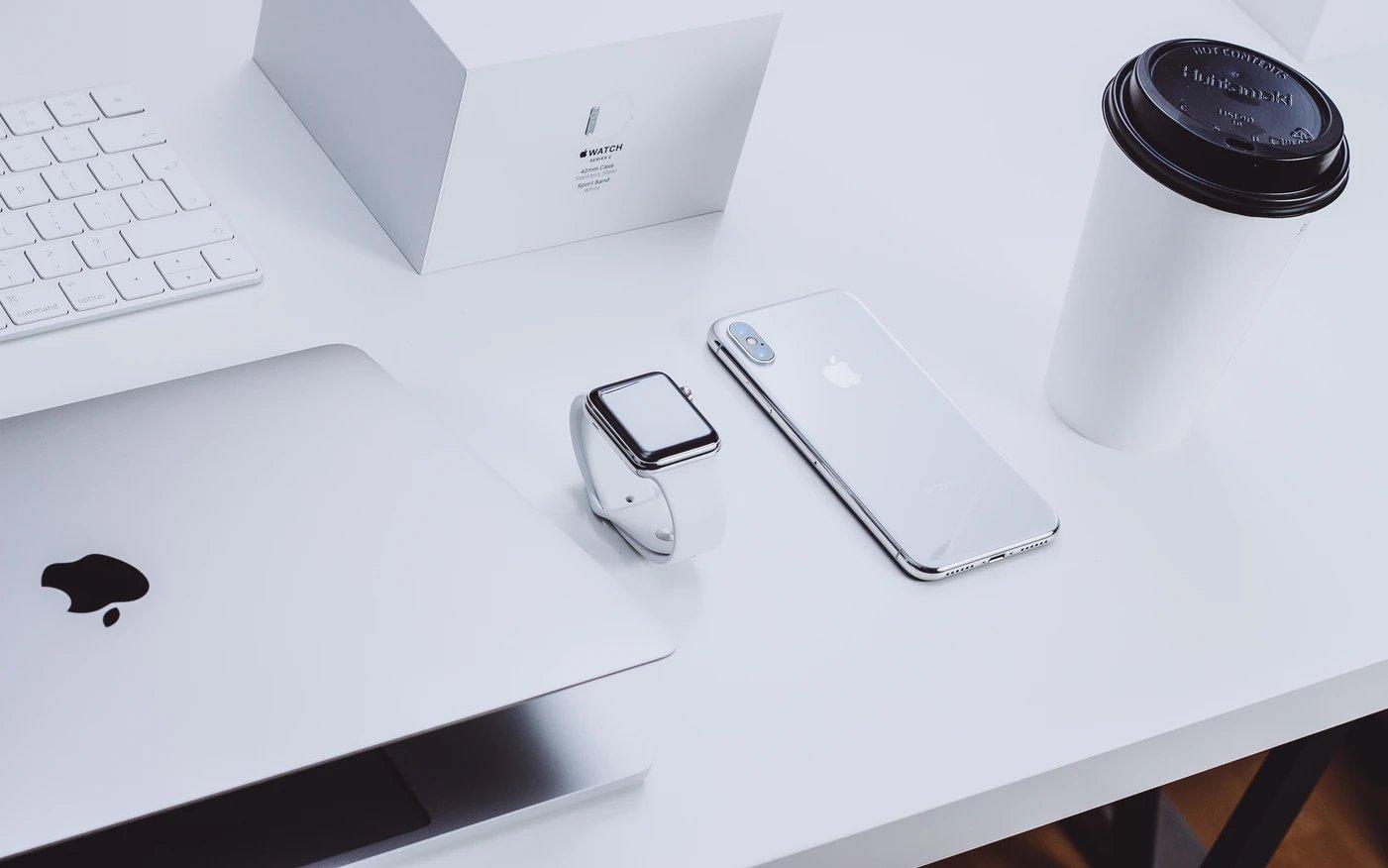 Apple logo produtos