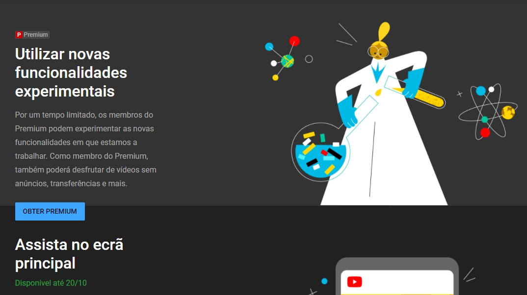 YouTube labs