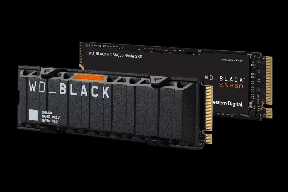 WD Black SN850s