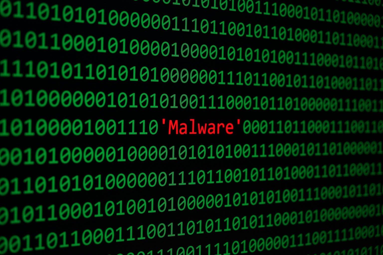 malware em código verde