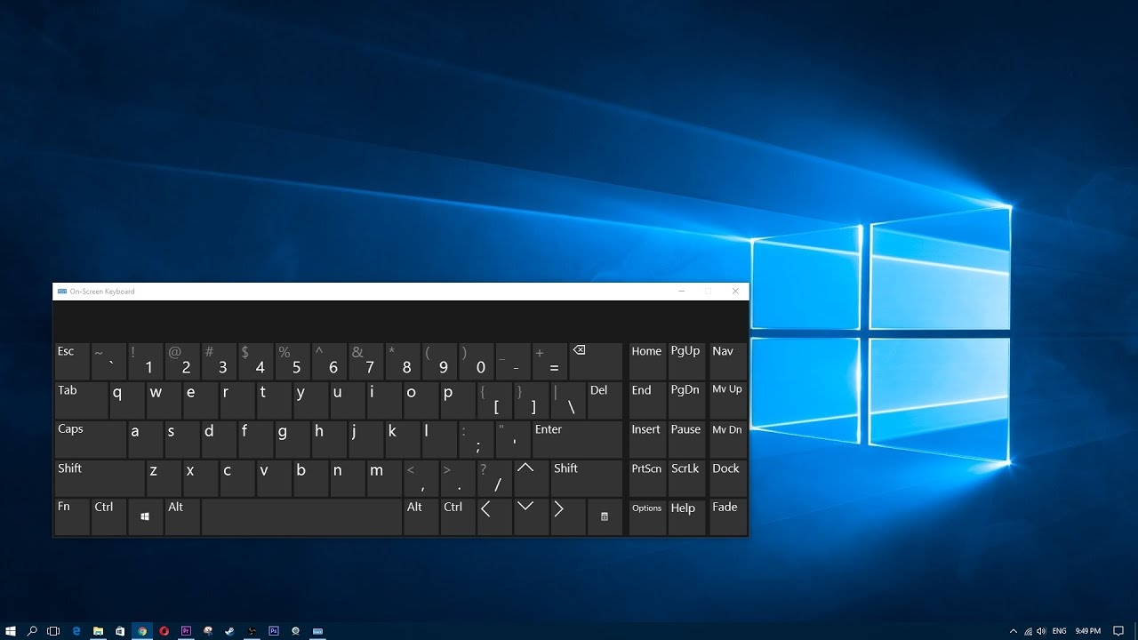 Windows 10 teclado