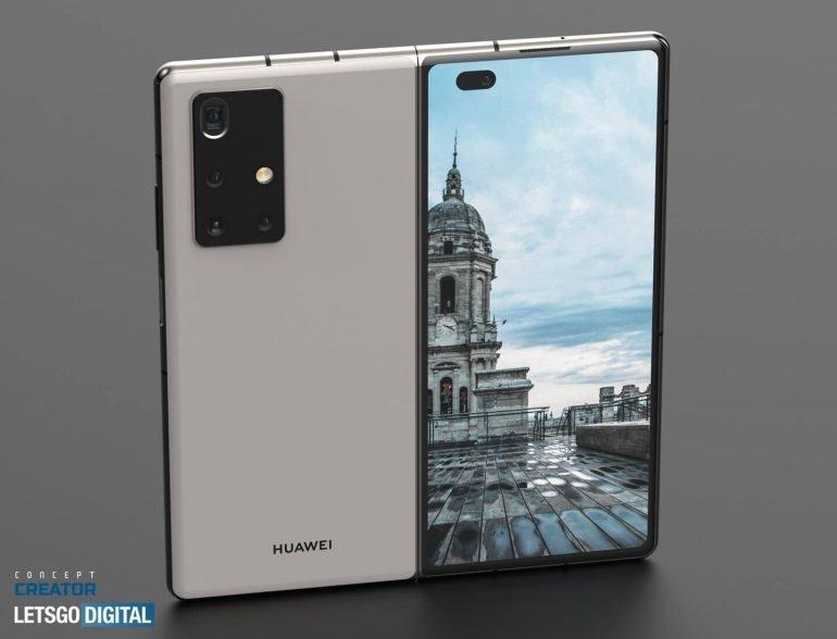 câmaras Huawei mate x2