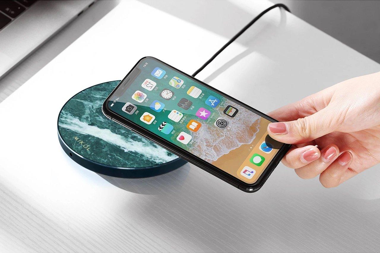 Sistema de carregamento sem fios iPhone