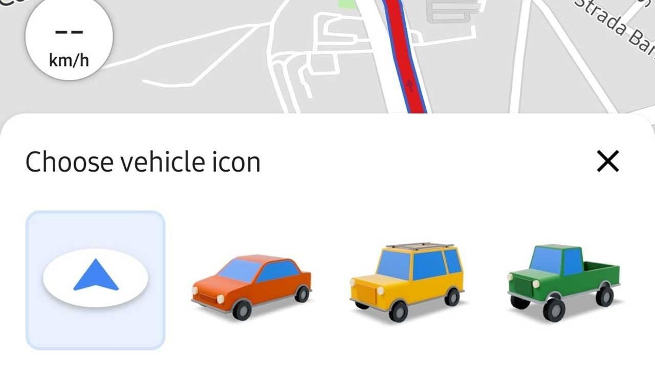Google Maps cars