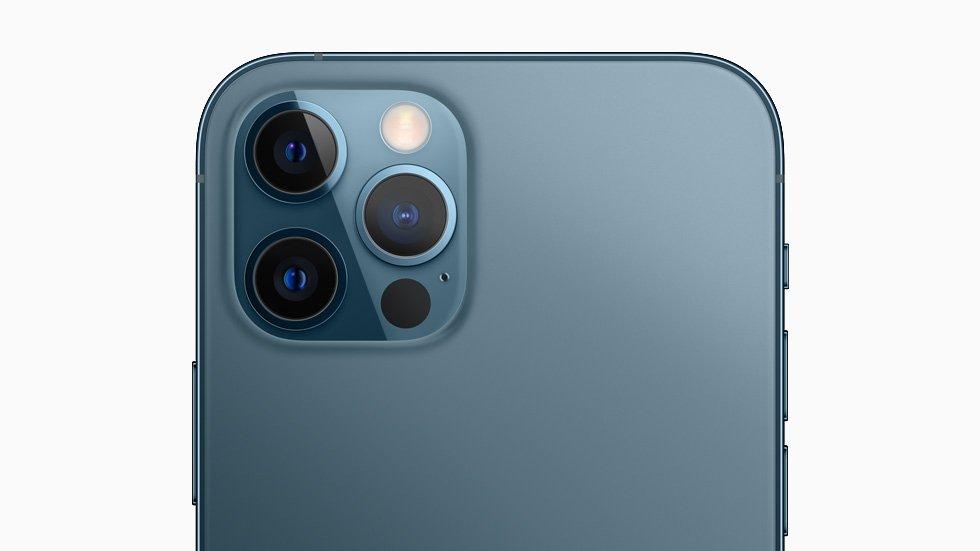 câmara do iPhone 12 pro