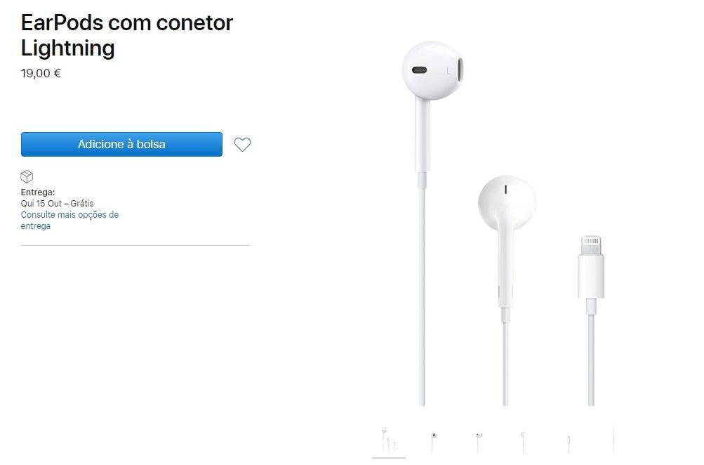 preço dos earpods
