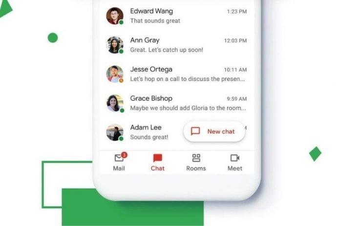 google chat no gmail