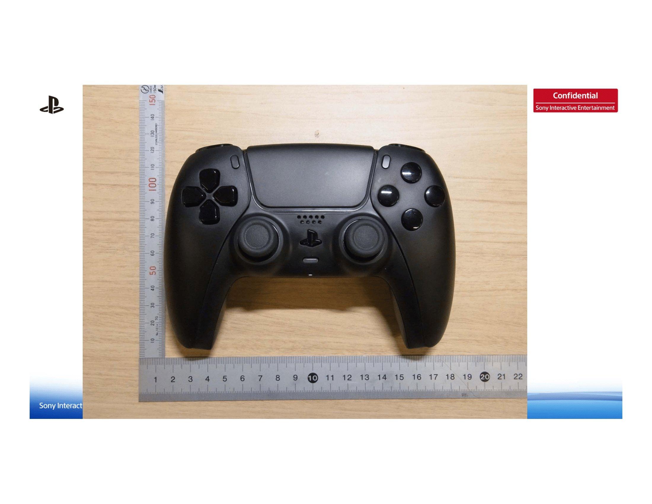 imagem do comando preto ps5