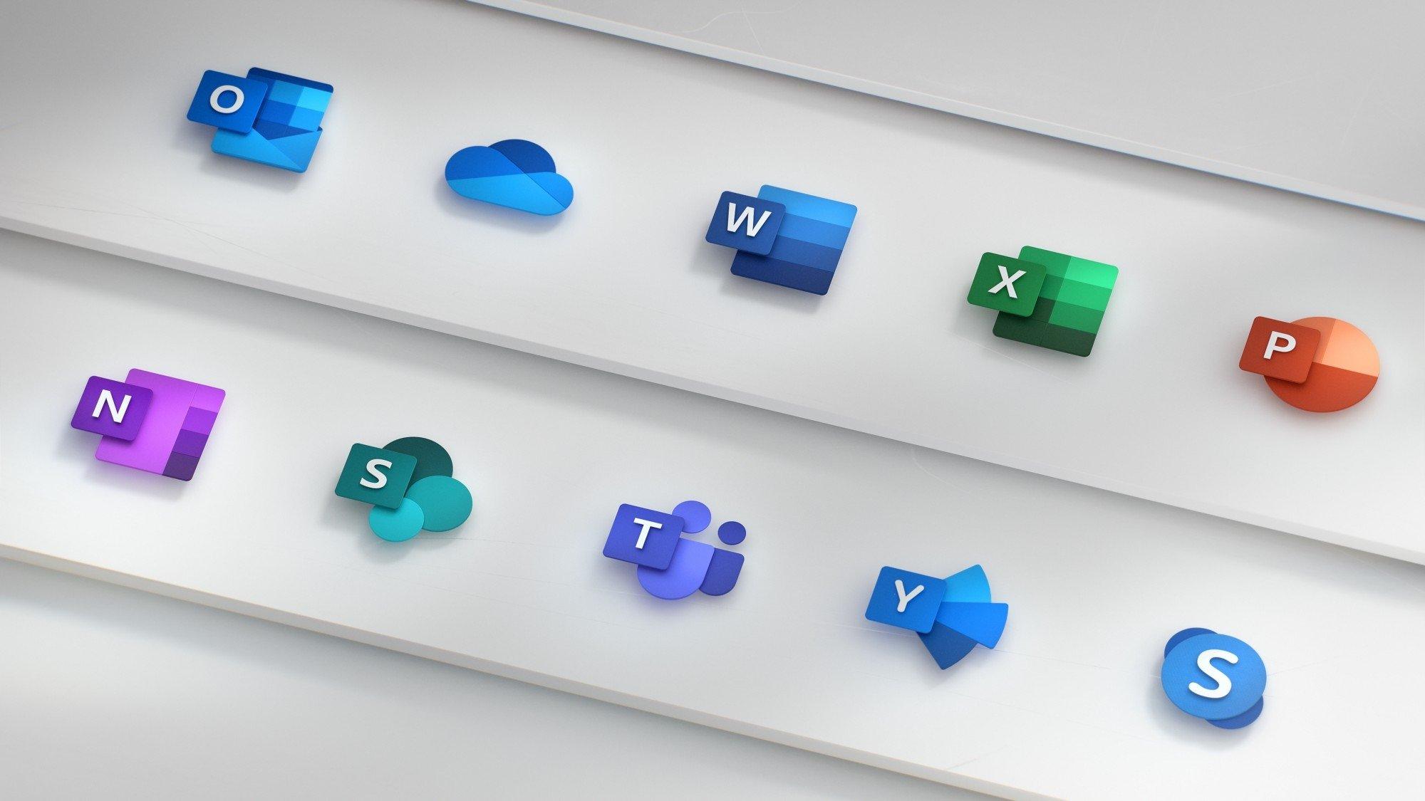 Windows 10 office icones