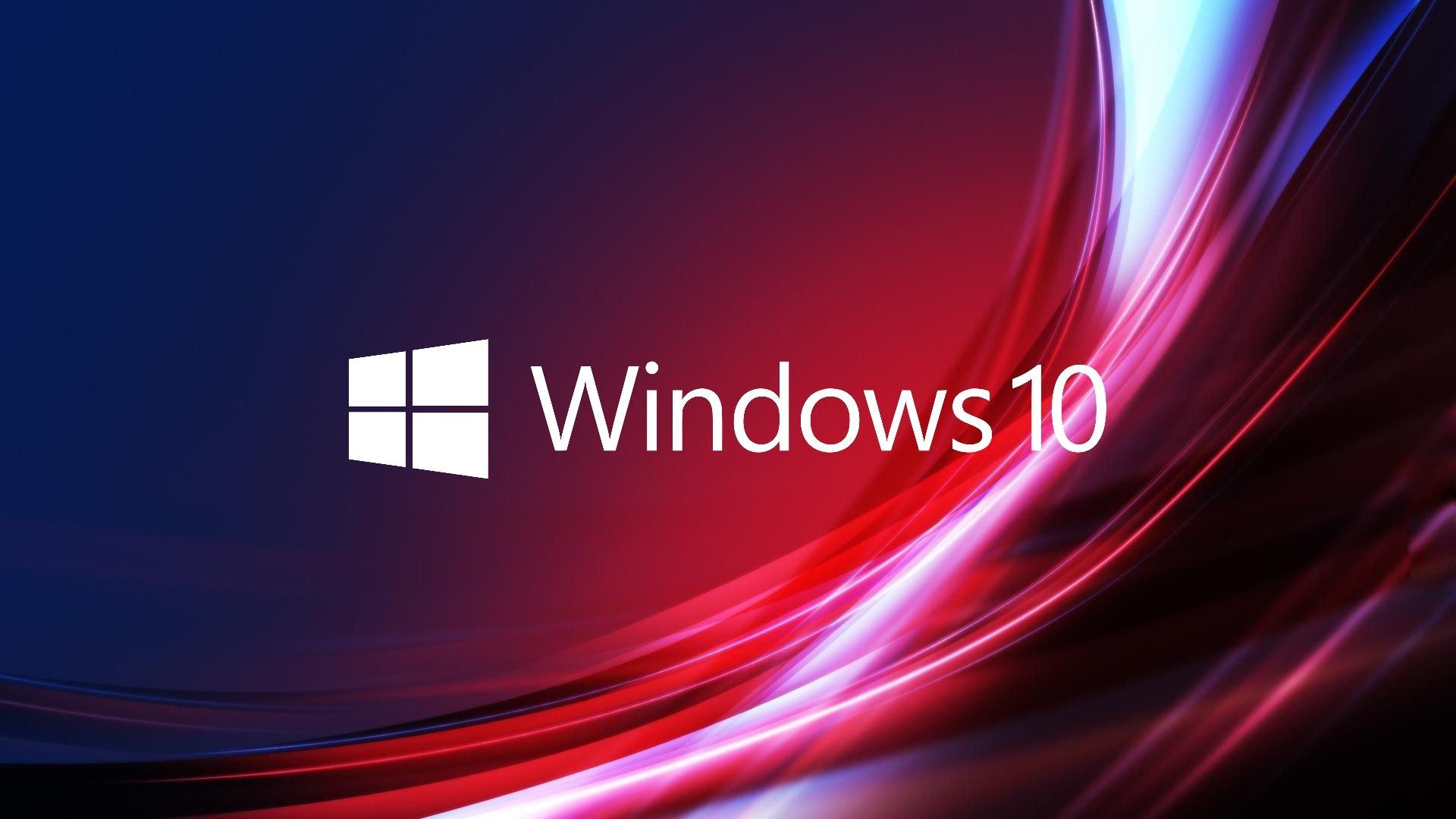 Windows 10 logo vermelho
