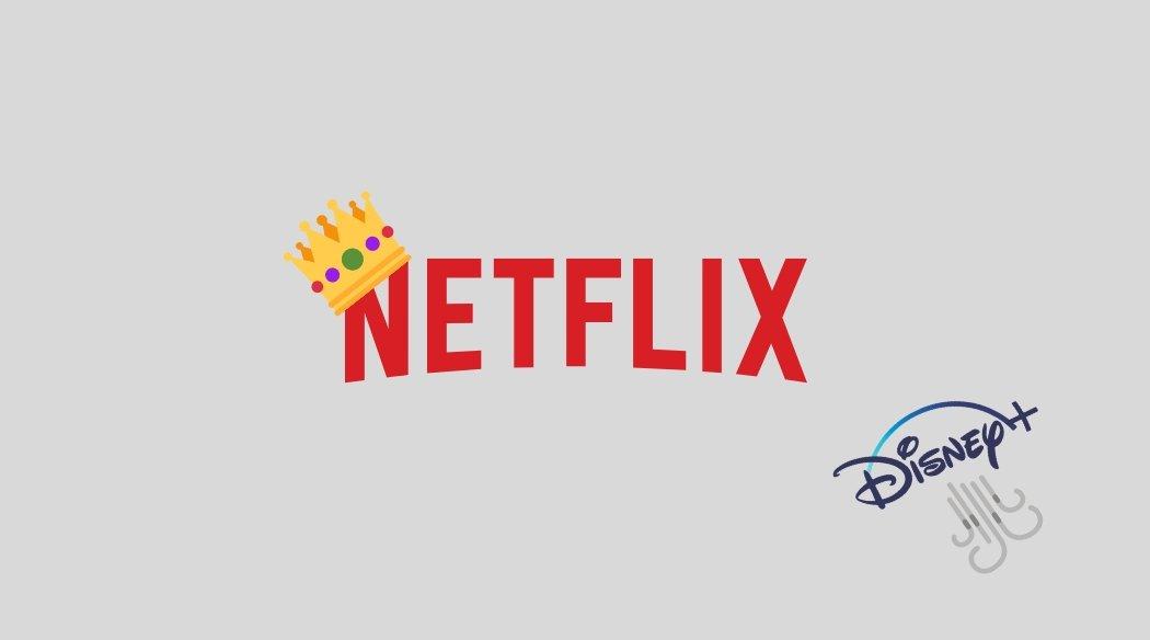 Netflix e disney+