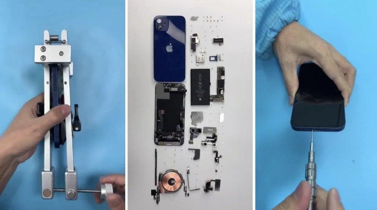 iPhone 12 desmontagem