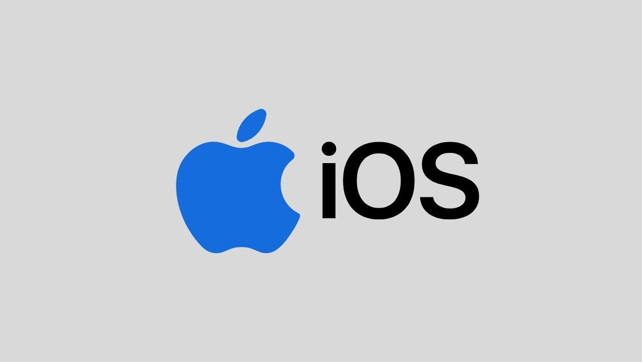 iOS apple