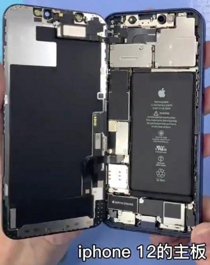 interior do iPhone 12