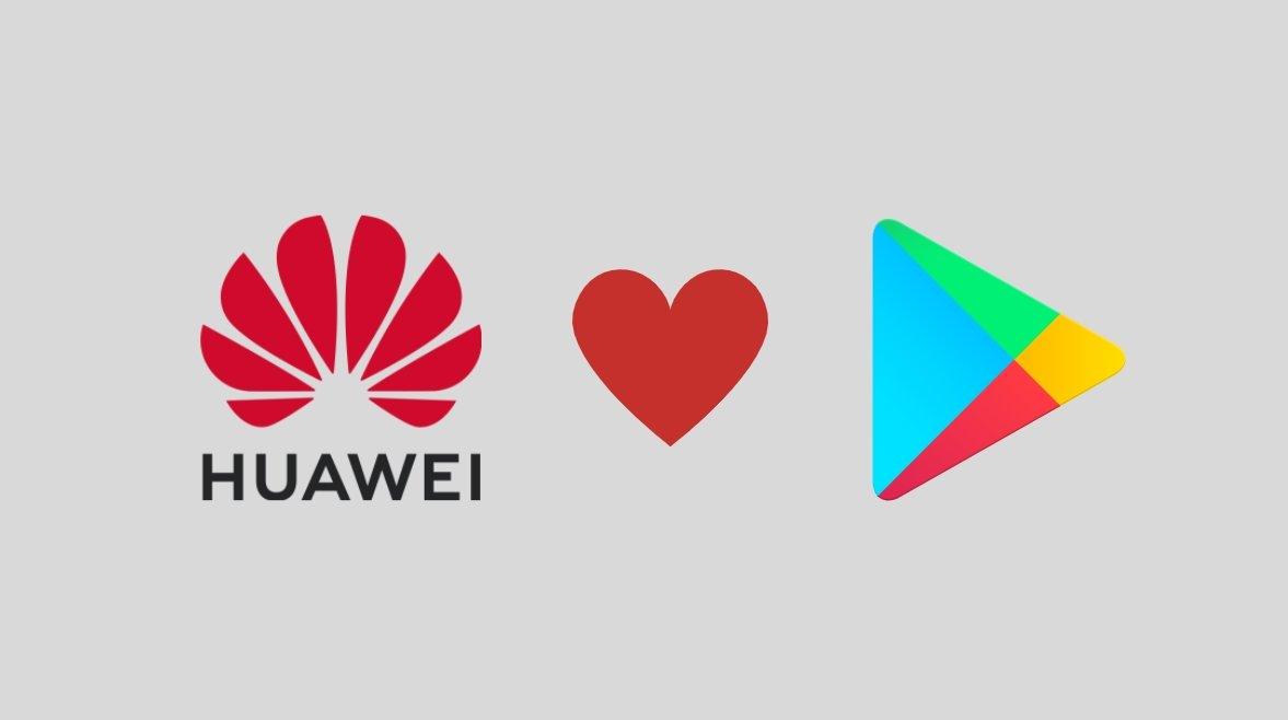 Huawei e Play Store