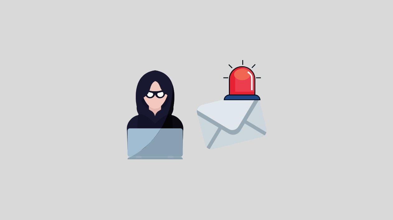 Alerta de email phishing