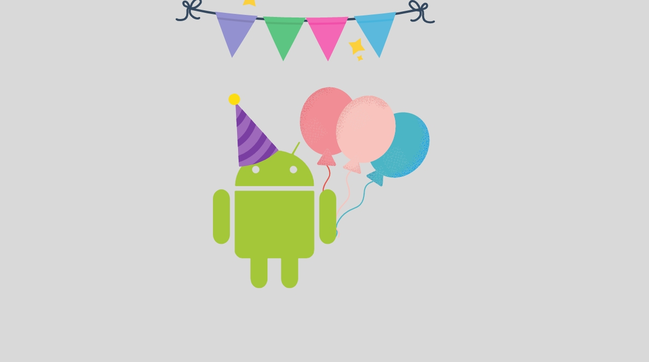 Android parabéns