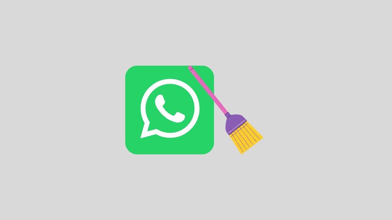 WhatsApp clean mensagens