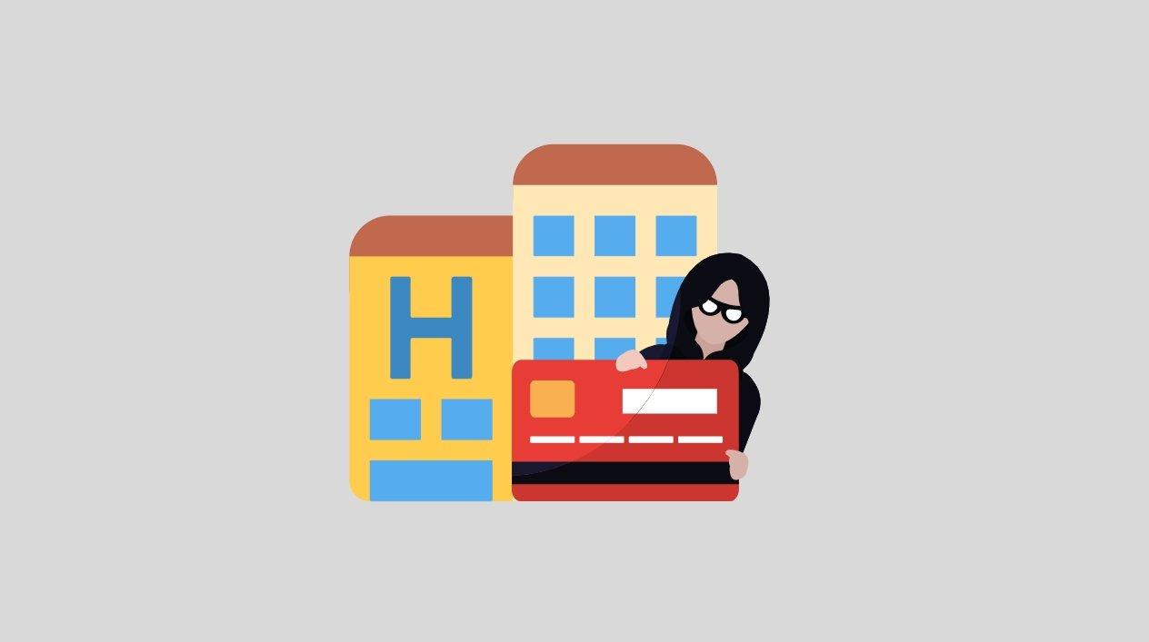 Hotel reservas e roubo de informações