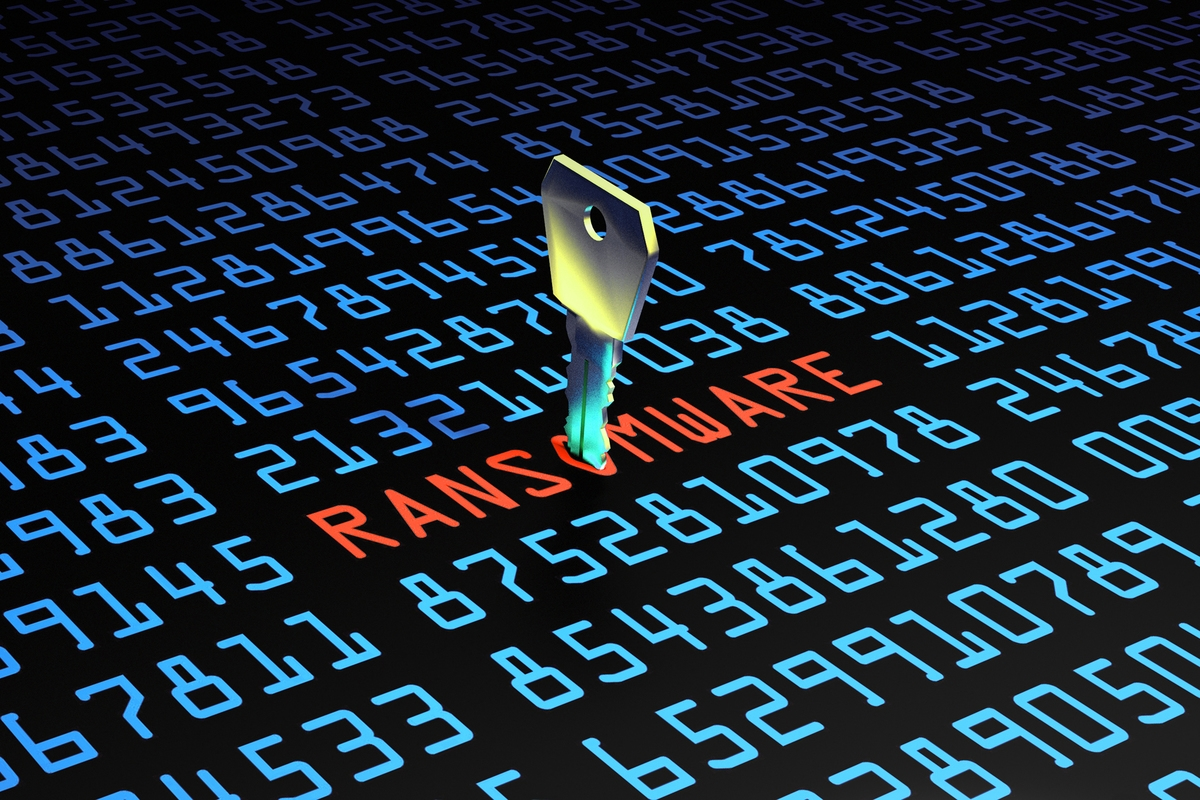 Ransomware ataque