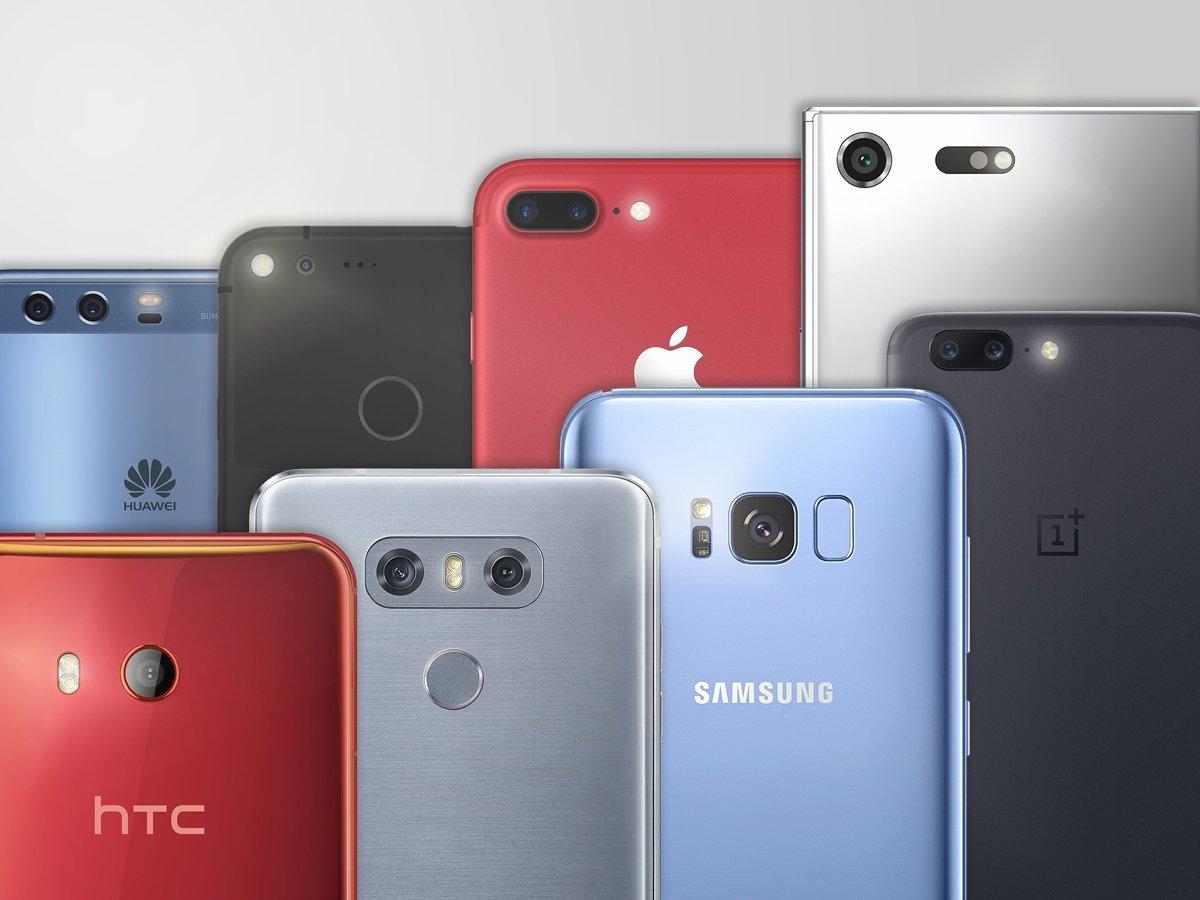 câmaras em smartphones