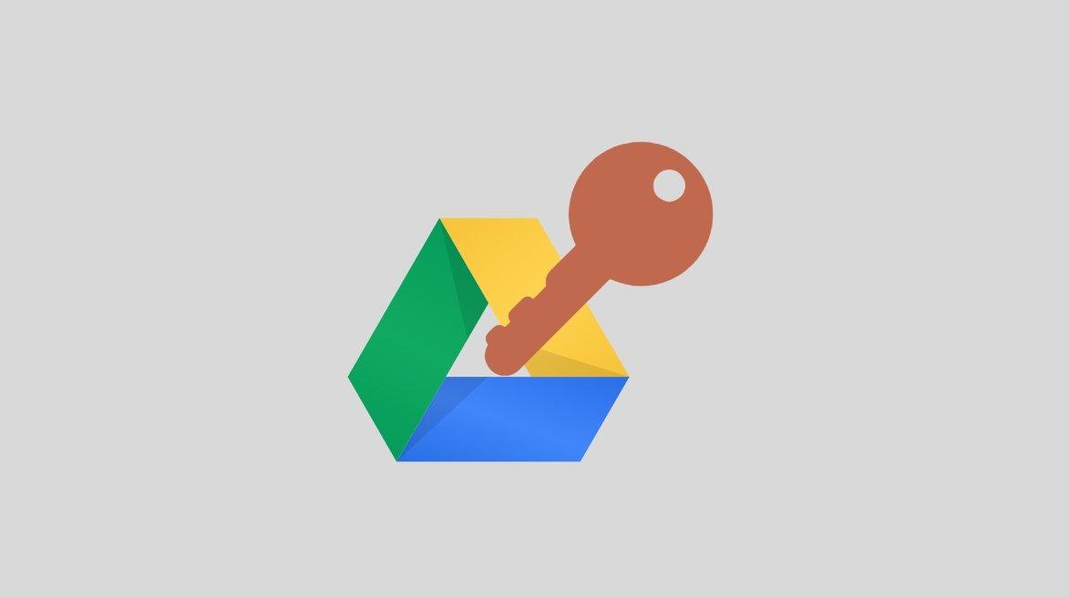 Google Drive encriptação
