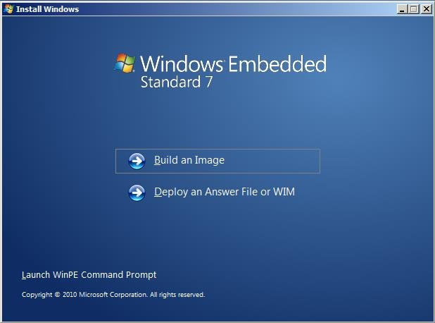 Windows 7 embedded