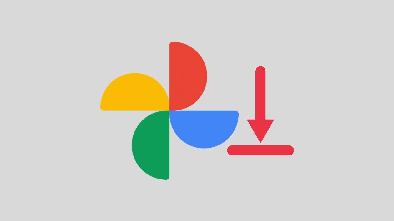 Google fotos exportar conteudos