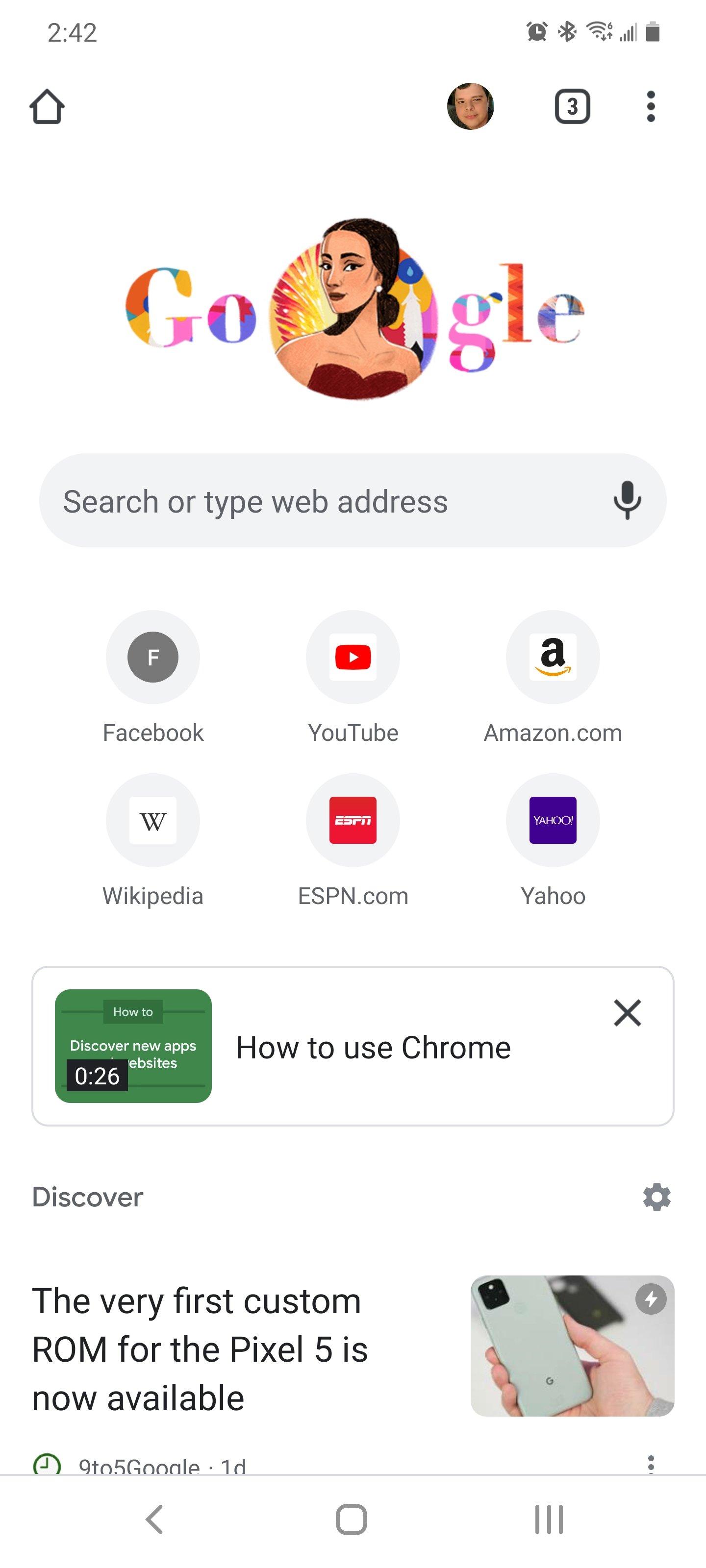exemplo das páginas de ajuda e videos